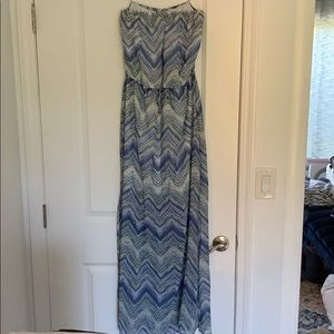Guess strapless maxi dress p/s
